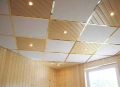 Преимущества и недостатки кассетных потолков, фото монтажа
