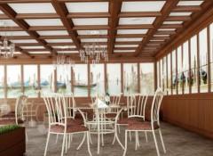 Кессонные потолки — роскошь, придающая помещению дорогой и респектабельный вид