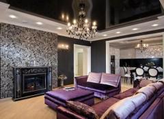 Варианты дизайна многоуровневых потолков в различных помещениях