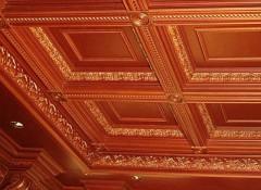 Решение из прошлого — деревянные кессонные потолки