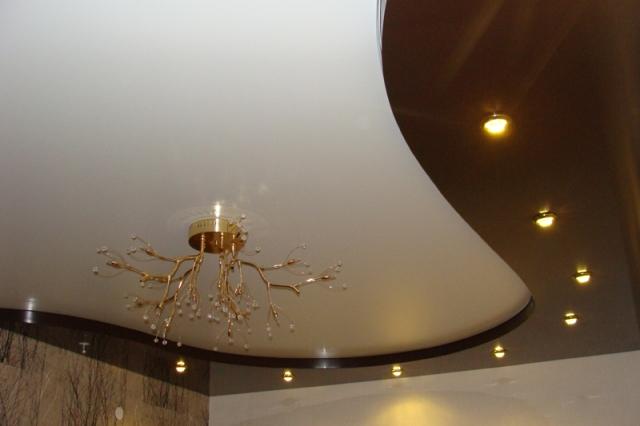 Натяжные потолки монтаж фото фото