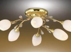 Какие люстры подходят для натяжных потолков и как их крепить?