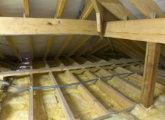 Деревянный дом — утепляем потолок