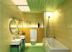 Выбираем — какой лучше потолок делать в ванной комнате?