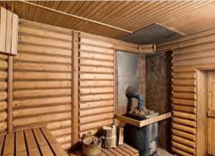 Потолок бани — различные типы потолков