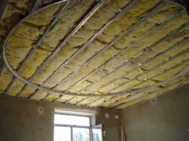 Утепление деревянного потолка своими руками 550