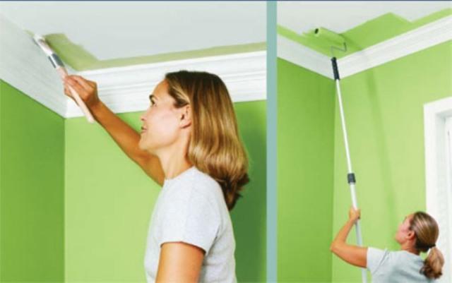 Какую краску выбрать для окраски потолка деревянные дома гидроизоляция балкона пол