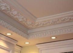 Лепнина на потолок — виды, варианты дизайна