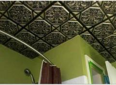 Что представляет собой потолочная плитка?