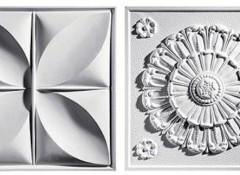Что собой представляет потолочная плитка из пенополистирола?