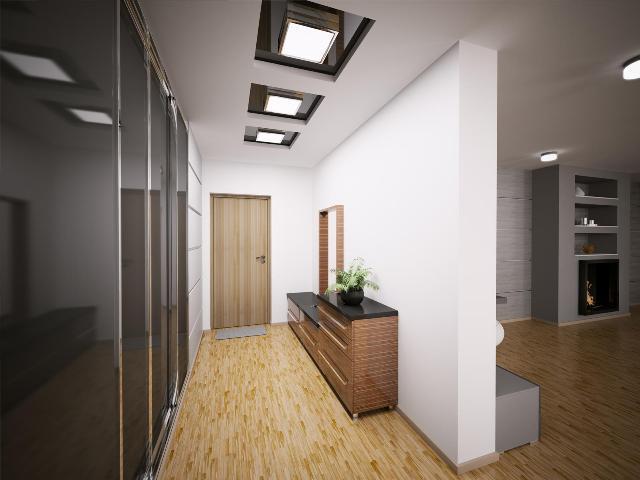 Варианты оформления потолков из гипсокартона в коридоре и прихожей