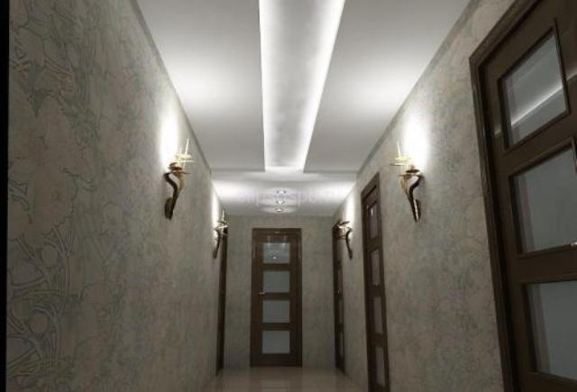потолки фото в коридоре