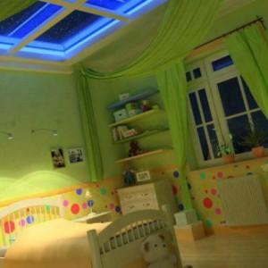 Расположение точечных светильников на потолке: видео