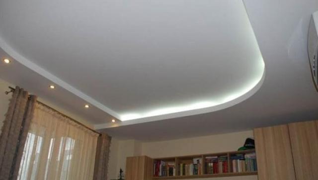 Фото гипсокартонных потолков дизайн