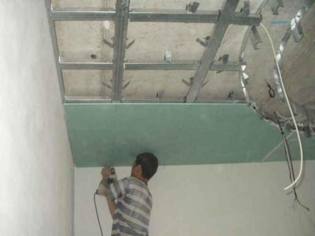 Как сделать потолок под гипсокартон 491