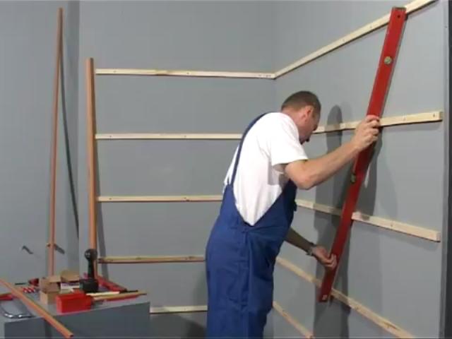 Как сделать обрешетку для пластиковых панелей на потолке