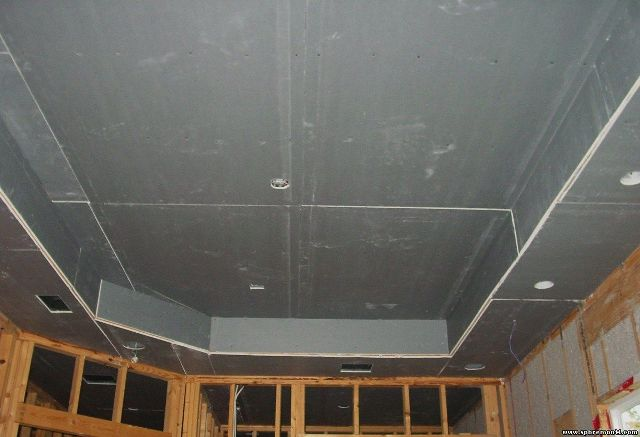 Варианты отделка потолка