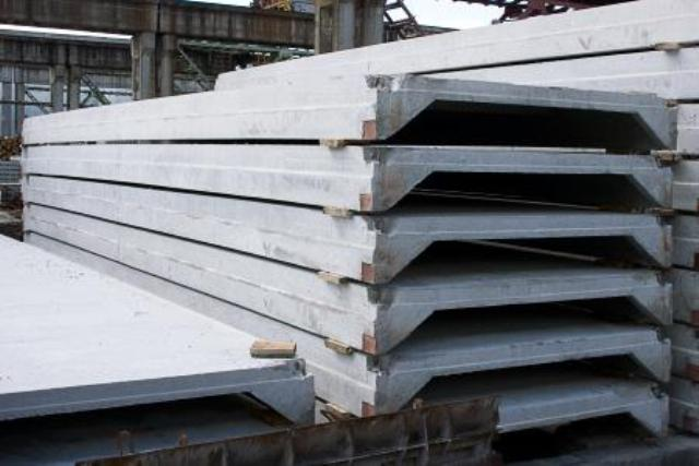 Плиты покрытия ребристые (ПГ, ПВ)