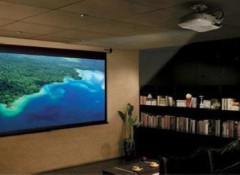 Крепим проектор на потолок