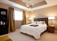 Варианты дизайна потолка из гипсокартона в спальне