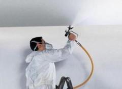 Автоматизация труда — побелка с помощью пылесоса или краскопульта?