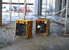 Преимущества и недостатки электрических тепловых пушек