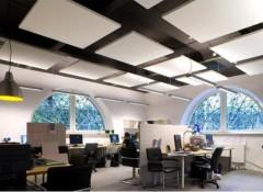 Оформление потолка в офисных помещениях