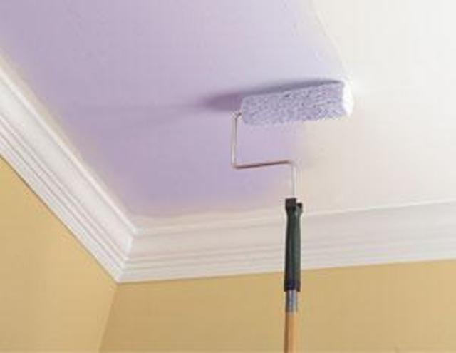 Как сделать потолка на краску 10