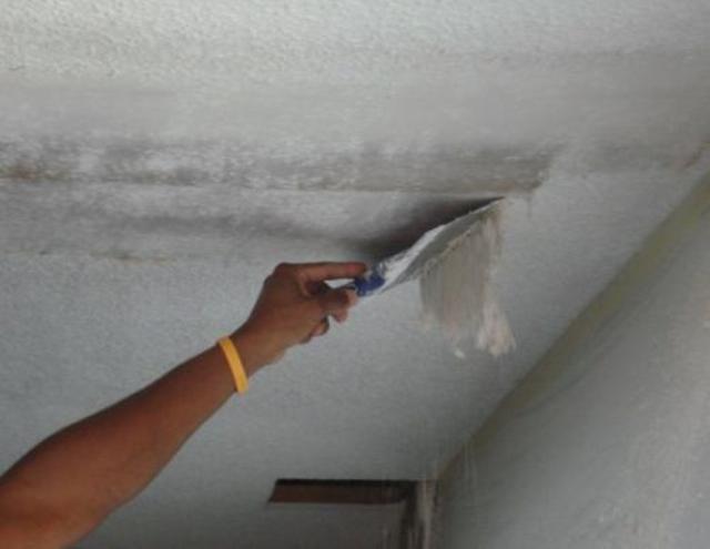 Очистка потолка от шпатлевки или краски цена какой лучше купить наливной пол для квартиры
