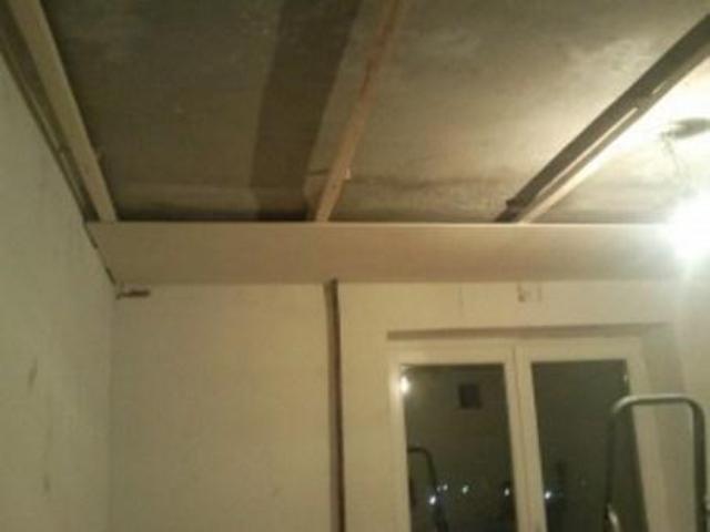 Потолок сайдинг своими руками