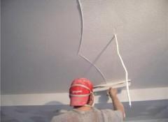 Готовимся к покраске — шпаклевка потолка из гипсокартона