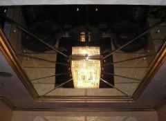 Виды и варианты оформления стеклянных потолков