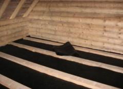 Какие существуют методы гидроизоляции потолка бани?