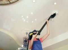 Матовые натяжные потолки — как за ними ухаживать?
