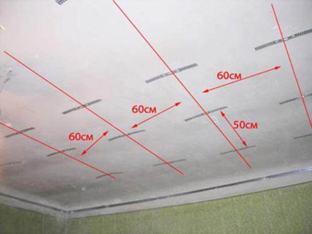 Схема сборки подвесного потолка фото 130