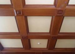 Создание своими руками кессонного потолка