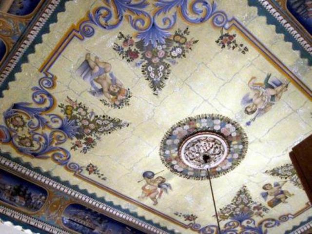 потолок декоративный фото