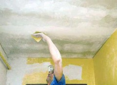 Как провести быстрый ремонт потолков в квартире?