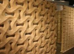 Применение для отделки стен и потолка деревянных 3d панелей
