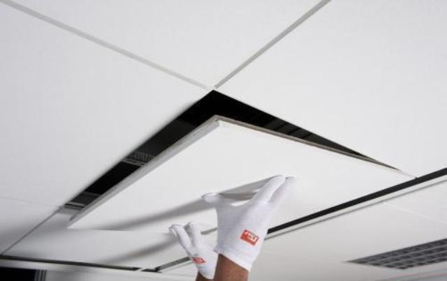 Акустические подвесные потолки и их преимущества