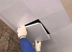 Преимущества и особенности монтажа кассетных потолков Cesal