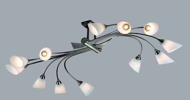 Плоские люстры на потолок фото