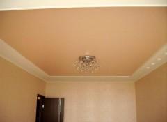 Матовые цветные натяжные потолки — варианты применения
