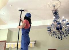 Матовые натяжные потолки — как и чем их мыть?