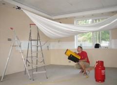 Как устанавливаются натяжные потолки?