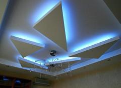Парящий натяжной потолок — что это и почему его так называют?