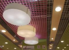 Что собой представляют решетчатые подвесные потолки?