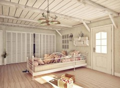 Как выбрать светильник для помещения в стиле «прованс»?