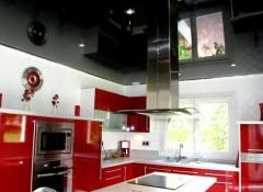 Черный потолок — в каких помещениях его можно установить? Варианты оформления