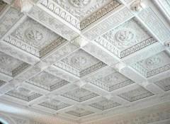 Вариант дизайна — гипсовые потолки